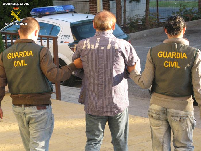 detencion guardia civil